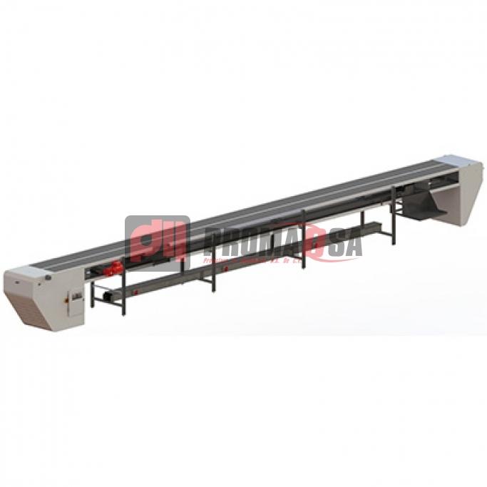 Estera modular, transportadora modular de hormas.