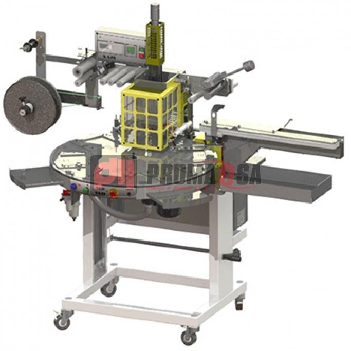 Máquina de estampar transfer en rollo cinta oro-grabado (máquina para aplicar transfer en rollo automática).