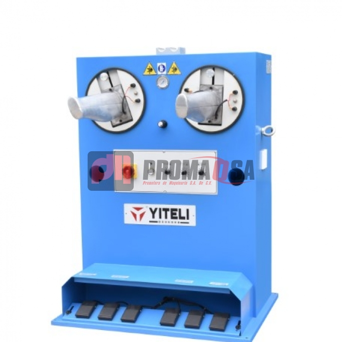 Máquina de planchar tubo de bota solo calor con plancha manual.