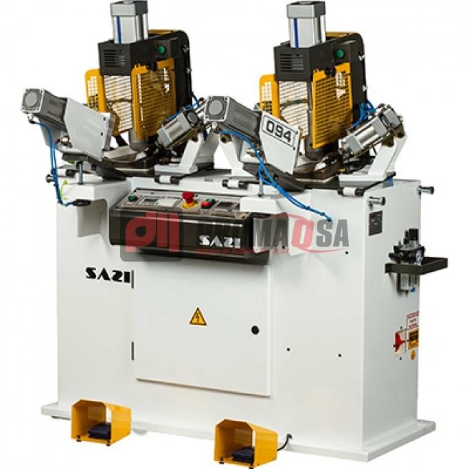 Máquina de rebatir planta automática doble.