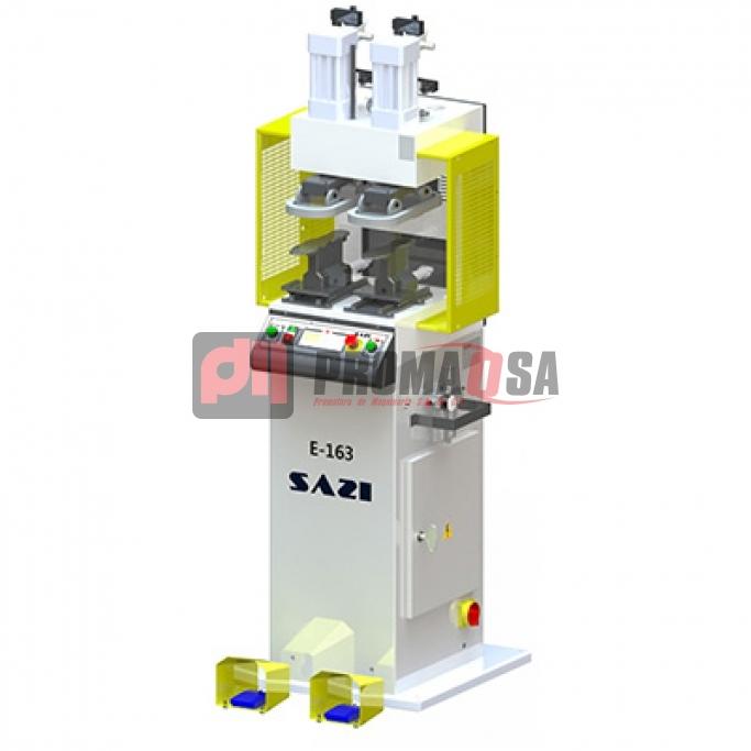 Máquina prensa para plantillas.