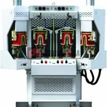 Máquina de conformar talón inflable de 4 estaciones.