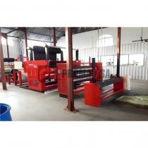 Máquina de bondeado (laminado) . Máquina de triple prensa.